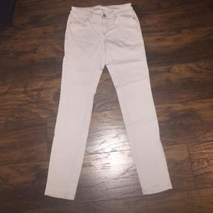 Denim - LOFT Gray Curvy Skinny Jeans
